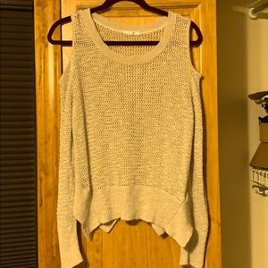 Maurice's cold shoulder knit sweater